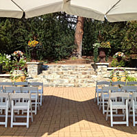 Garden Wedding Summerland 2
