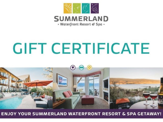 2019 SWR Gift Certificate