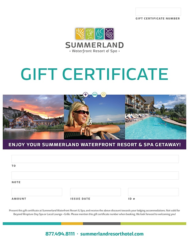 Swr   Gift Certificate