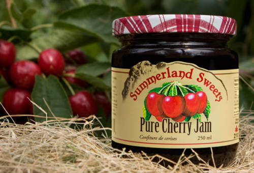 Summerland Sweets Cherry Jam