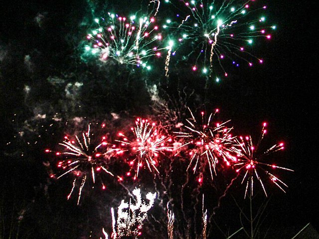Fireworks Light Up